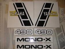 1983 YAMAHA YZ 490 COMPLETE DECAL SET AHRMA