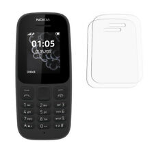 2 x Nokia 105 2017 Screen Protectors For Mobile Phone - Glossy Cover