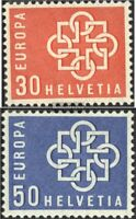 Schweiz 679-680 (kompl.Ausgabe) gestempelt 1959 Europa