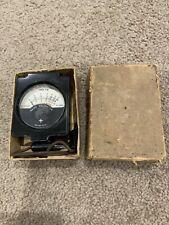 Vintage Radio Voltmeter In Original Cardboard Box