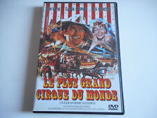 DVD - LE PLUS GRAND CIRQUE DU MONDE  - J. WAYNE / C. CARDINALE / R. HAYWORTH