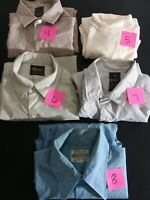 5-Vintage 1950s-70s Mens Shirts-sears premiere collection,perma prest,kmart.