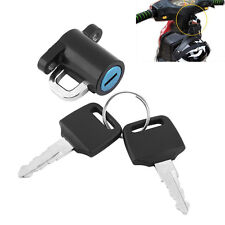 Universal Motorcycle Motorbike Scooter Bike Helmet Lock Hanger Hook + 2 Keys Set