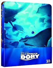 ALLA RICERCA DI DORY - STEELBOOK EDITION (BLU-RAY 3D+2D) ANIMAZIONE 2017 DISNEY