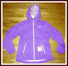 NWT The North Face Women's Boreal Waterproof DryVent Rain Jacket M MEDIUM PURPLE