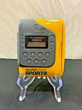 RARE SONY SPORTS Walkman AM/FM STEREO CASSETTE PLAYER WM-F2078