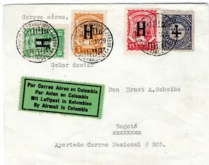 NETHERLANDS - COLOMBIA - SCADTA CONSULAR 30c COVER - Sc CLH47/9 - 1929 - RRRR