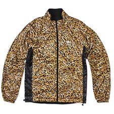 Adidas Originals REVERSIBLE Windbreaker SPECIAL Estilo Chaqueta Leopardo Negro S