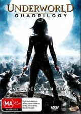 Underworld / Underworld - Evolution / Underworld - Rise Of The Lycans / Underworld - Awakening (DVD, 2012, 3-Disc Set)