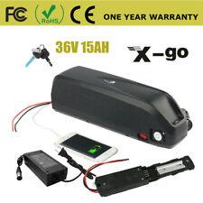 36V 15Ah 750W 500W 350W 250W Electric Bicycle Battery Lithium Li-ion Usb E-bike