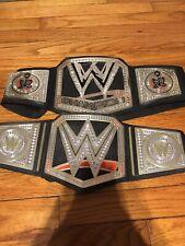 WWE CHAMPIONSHIP BELTS 2013 2014 MATTEL LOT OF 2