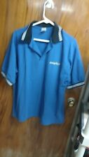 MENS LARGE GOODYEAR  POLO EX USED CONDITION
