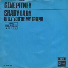 7inch GENE PITNEY	shady lady	HOLLAND 1970 BLUE COVER EX	  (S0939)