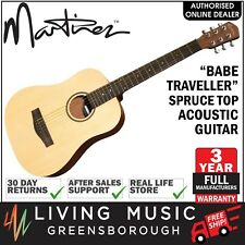 NEW Martinez Babe Traveller Spruce Top Mini Acoustic Travel Guitar
