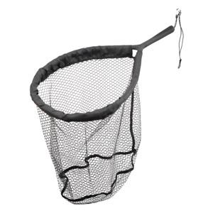 ** New ** Savage Gear Pro Finezze Rubber Mesh Floating Landing Net 40x50x50cm