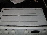 BROTHER  KH-710  /  KH710 KNITTING MACHINE EXTENSION RAIL X 2 VGC FAST DISPATCH