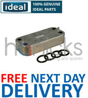 Ideal 30kW DHW Plate Heat Exchanger & O'Rings 175418 Genuine Part *NEW*