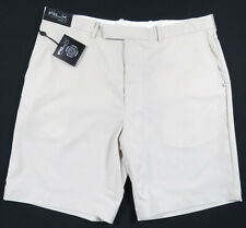 NWT Ralph Lauren RLX Golf French Stretch Recover Beige Sand Mens Shorts 38