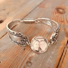 Boho spoon bracelet photo snap charm bangle bracelet noosa ginger 18mm magnetic