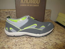 """Khombu """"Cape Cod 2"""" Sneakers 7.5 M Grey/Yellow Synthetic Upper New with Box"""