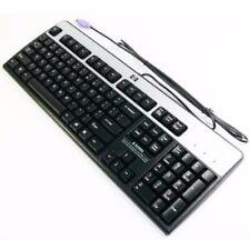 HP 435302-001 PS/2 Keyboard Basic Windows Silver/Black 434820-001 New OEM Packag