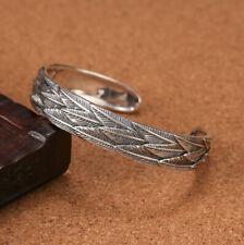 I07 Armspange Feder Sterling Silber 925