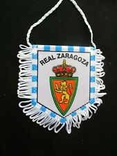 REAL ZARAGOZA SARAGOSSE  fanion wimpel pennant football ancien annees 90