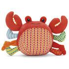Grelot jouet éveil bébé Peluche Crabe Rattle Baby green toy Rassel Babyspielzeug
