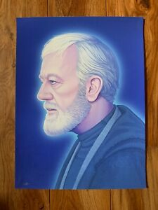 Obi Wan Kenobi Mike Mitchell Star Wars Limited-Edition Numbered&Signed