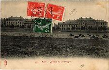 CPA Reims-Quartier du 22e Dragons (490452)