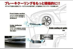 KansaiSERVICE Carbon brake duct for the Nissan R35 GT-R