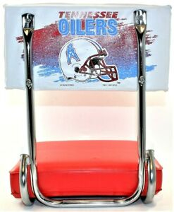 NFL Tennessee Houston Oilers Stadium Bench Seat Pre Tennessee Titans KR Ind.