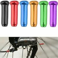 50x Bike Bicycle Brake Shifter Derailleur Inner Cable Wire End Cap Crimps Mix Ju