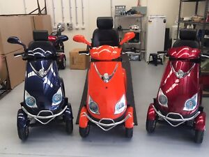 All New ES028 4wheel mobility scooters