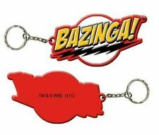 Big Bang Theory Bazinga! Rubber Keychain
