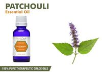 Patchouli Essential Oil 100% Pure Natural Aromatherapy Oils Therapeutic Grade