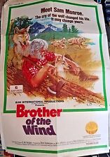 """Brother of the  Wind Movie Poster Folded 40"""" x 27"""""""