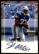 2000 Bowman On Card Shaun Alexander RC Auto Seahawks (Cbf)