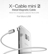 WSKEN Mini 2 Magnetic Micro USB Charge Cable for Samsung HTC LG Droid