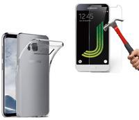 Coque TPU + Film Verre Trempé Samsung Galaxy NOTE 3 NOTE 4 NOTE 5 Au Choix