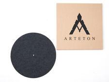 Black Cork Felt Turntable Record Mat Vinyl 4mm Arteton LP Audiophile GERMANY DG