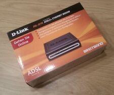D-Link DSL-321B ADSL2+ kompaktes Ethernet Modem neu