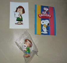 Personaggio Snoopy Peanuts 3D + sticker edibas collection PATTY
