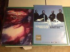 2 Staind Promo Posters Aaron Lewis music cd album vintage .
