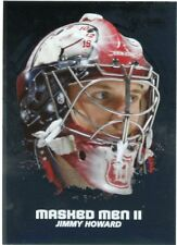 09/10 BETWEEN THE PIPES MASKED MEN II MASK SILVER #MM-09 JIMMY HOWARD *44344