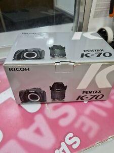 Pentax K-70 24.2MP Digital SLR Camera - Black (Kit w/ DA 18-135mm Lens)