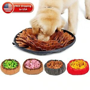 French Bulldog Sniffing Stress Release Mat Portable Pet Feeder Chronic 35cm