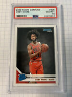 2019 Panini Donruss Coby White #206 Rated Rookie RC PSA 10 GEM MINT