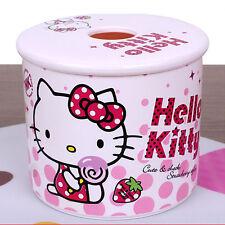 Hello Kitty Tissue Box Tissue Cover Toilet Paper Holder Cover