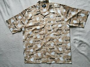 VINTAGE ROCAWEAR SHIRT WITH SHORT SLEEVE SIZE L CARMEL